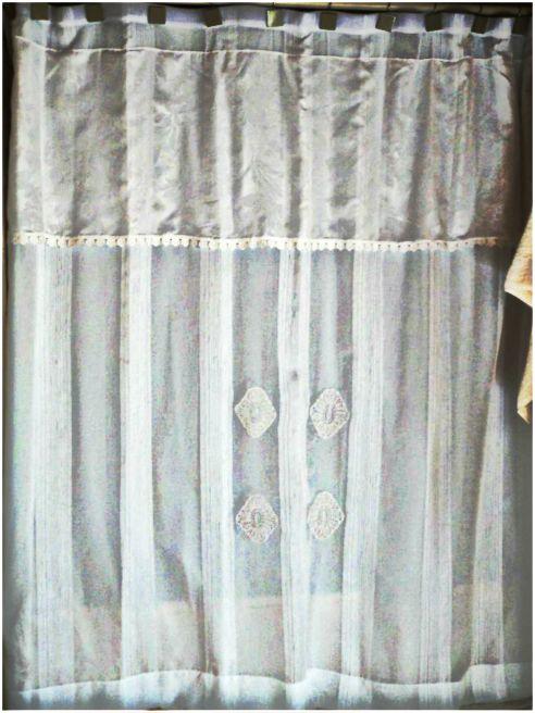 Dise os de cortinas de ba o en tela casa dise o casa for Disenos de cortinas