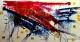 cuadros abstractos 150x80 codigo 579 bastidor de 4 cms ( VENDIDO )