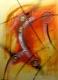 cuadros abstractos 80x60 codigo 1222 bastidor de 3 cms. ( VENDIDO )