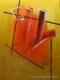 cuadros abstractos 80x60 codigo 1242 bastidor de 3 cms. ( VENDIDO )