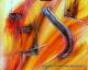 cuadros abstractos 100x80 codigo 1396 bastidor de 3 cms. ( VENDIDO )