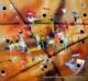 cuadros abstractos 120x100 codigo 1553 ( VENDIDO )