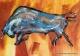 """cuadros modernos """"toro  150x80 codigo 2022 vendido"""